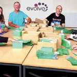 Evolve Article in Torfaen Talks