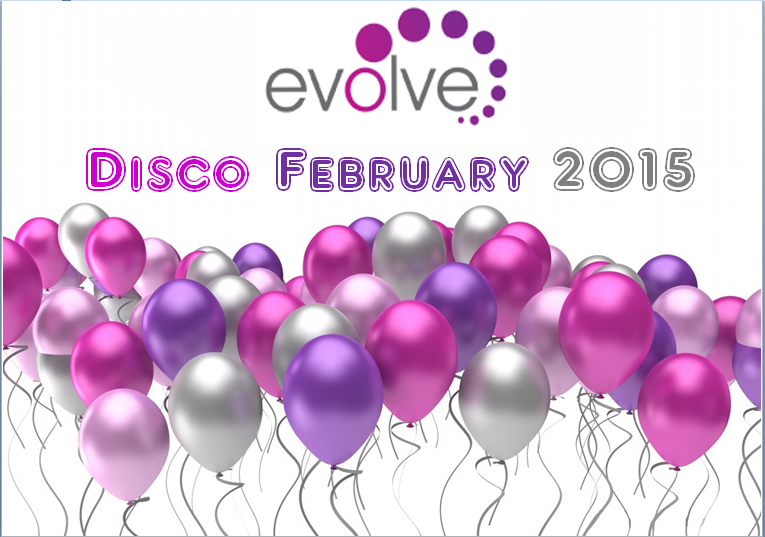 Evolve Disco Feb 2015 Poster