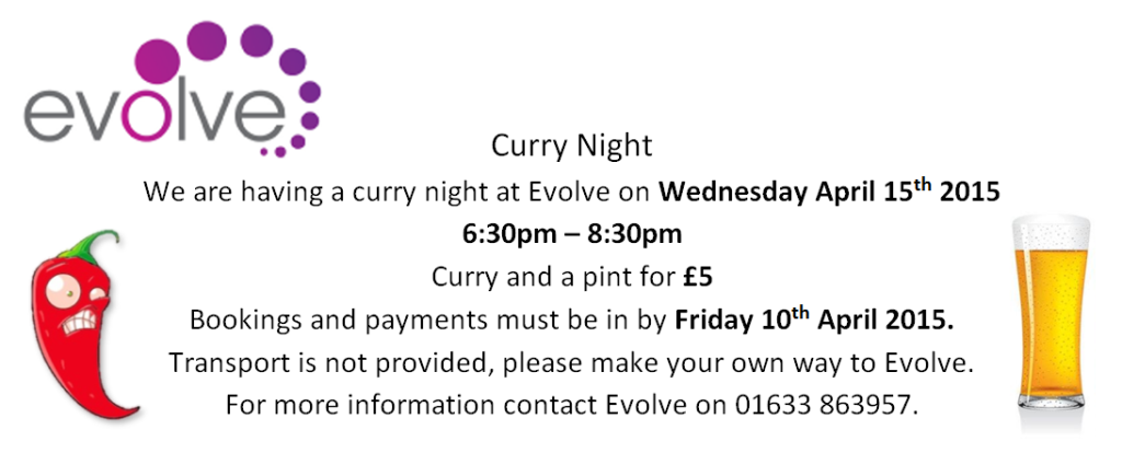 Curry Night Note