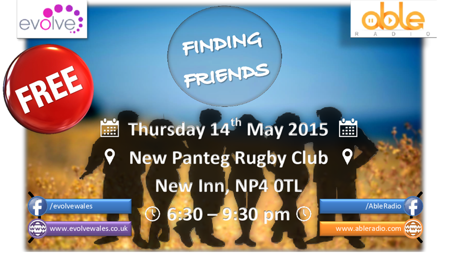 Finding Friends Website Graphic 2