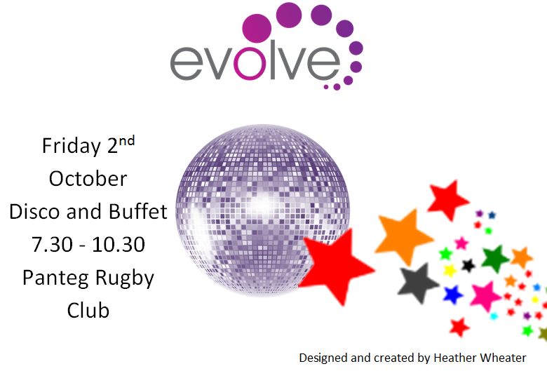 Evolve October 2015 Disco Poster