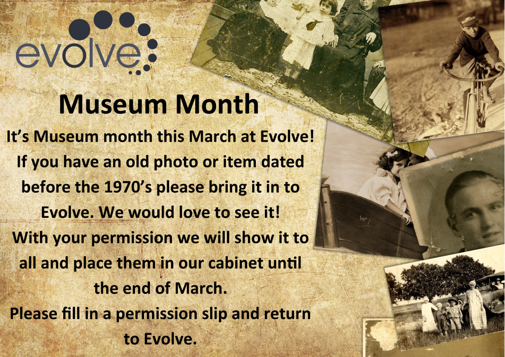 Museum Month A4 Poster