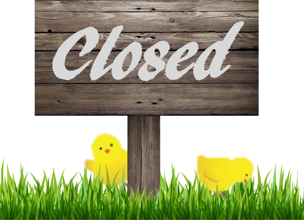 Eeaster Closed