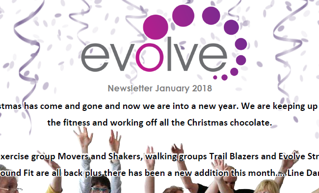 Evolve Newsletter Graphic